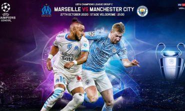 LIVE/ Champions: Mbyllet ndeshja Marseille-Manchester City. Rezultati 0-3