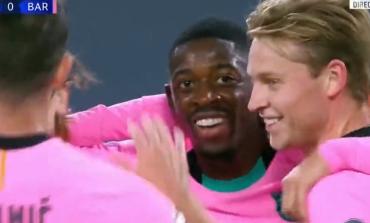 CHAMPIONS/ Dominon Barcelona në Torino. Griezmann godet shtyllën, Dembele gjen golin me fat (VIDEO)
