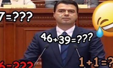 """GAFAT e Bashës që tregojnë se kryedemokrati e ka punën """"keq"""" me... shifrat"""