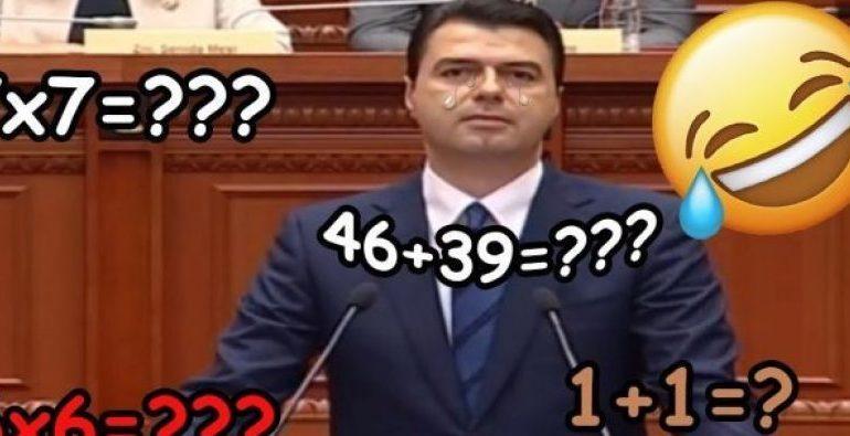 """GAFAT e Bashës që tregojnë se kryedemokrati e ka punën """"keq"""" me… shifrat"""