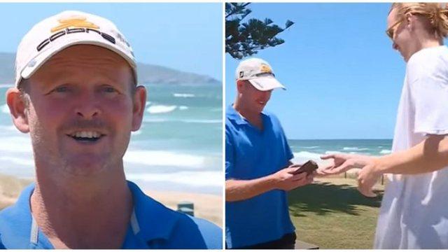 E PADËGJUAR MË PARË/ Habitet australiani, gjen portofolin që kishte humbur 26 vite më parë në plazh (VIDEO)