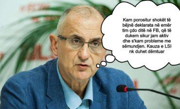 """""""LSI përjashton nga partia për sabotim të kauzës, Petrit Vasilin"""""""