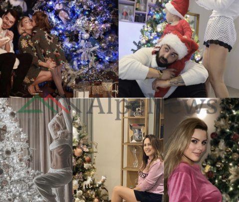 """POZAT """"E ËMBLA"""" TEK PEMA E KRISHTLINDJEVE/ Atmosfera e festave në shtëpitë e VIP-ave (FOTOT)"""