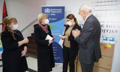 LAJM I MIRË/ OBSH-ja sjell 1000 oksimetra të dhuruara nga Gjermania, për pacientët COVID-19 në Shqipëri