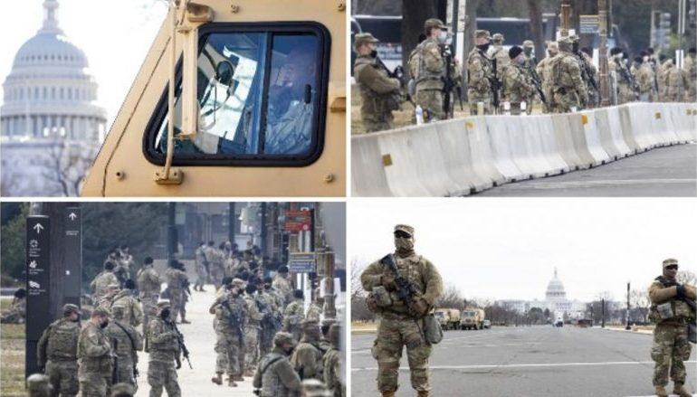 INAGURIMI I BIDEN/ SHBA në këmbë, Garda Kombëtare 'blindon' Washingtonin, forcohen masat në 50 shtetet amerikane