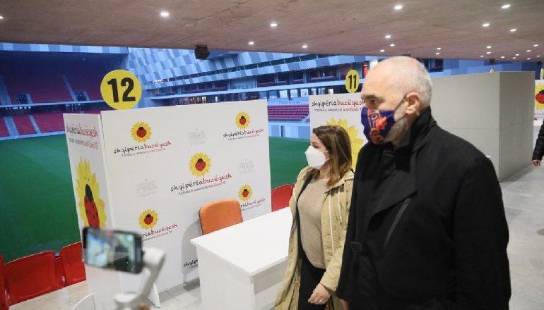 DETAJET PËR PLANIN E VAKSINIMIT/ Zbulohet ora e nisjes së vaksinimit në Air Albania Stadium
