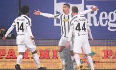 """TRIUMF MADHËSHTOR/ Juventus fiton Superkupën e Italisë, """"Përbindëshi"""" Ronaldo shkruan historinë"""