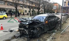 DALIN PAMJET/ Aksidenti në zemër të Tiranës, ja si kanë përfunduar MAKINAT