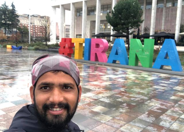 KA UDHËTUAR NË 42 SHTETE/ Indiani viziton Shqipërinë: U frymëzova nga Nënë Tereza