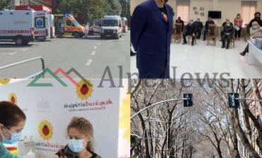 NGA MASAT KUFIZUESE, VAKSINIMI E DERI TEK SPITALET/ Ja çfarë po ndodh me COVID-19 në Shqipëri