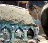 E RRALLË/ Zbulohet karroca romake e dasmave, mjeti unik u gjet nga gërmimet arkeologjike në...