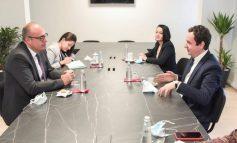 NJOFTIMI/ Kurti takon ambasadorin e Turqisë, temë diskutimi ambasada në Izrael