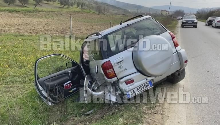 AKSIDENT I RËNDË/ Makina me targa greke përplaset me fuoristradën, një i plagosur në Fier