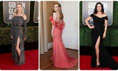 TAPETI I KUQ DHE VESHJET NGA SHTËPIA/ Ç'veshën yjet në Golden Globes