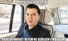 Lulzim Basha, kandidati për kryeministër që rripin e sigurimit e vendos... në sediljen e pasme