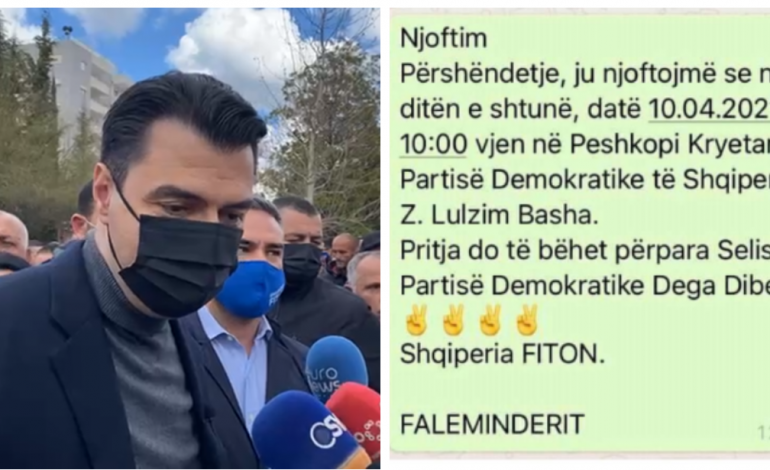 """FOTO FAKT/ Kur Lulzim Bashen e presin """"spontanisht"""" në Dibër!"""