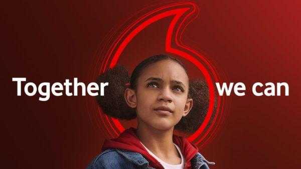 TOGETHER WE CAN: Pozicionimi i ri i markës Vodafone