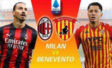 """LIVE/ Serie A: Mbyllet ndeshja Milan-Benevento në """"San Siro"""". Rezultati 2-0"""