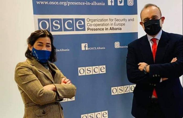 DITA E LIRISË SË SHTYPIT/ Prezenca e OSBE: Media e sigurt është oksigjen për çdo demokraci! Ne punojmë…
