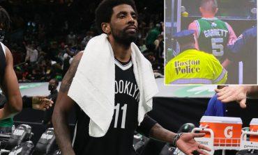 MOMENTE NERVOZIZMI/ Tifozi i Boston godet me shishe Irving pas ndeshjes, përfundon në pranga (VIDEO)