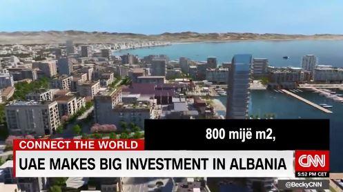 """""""DURRËSI, DUBAI I VOGËL…""""/ Rama publikon VIDEON e intervistës së Alabbar nga media prestigjoze CNN"""
