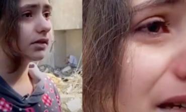 TENSIONET NË LINDJEN E MESME/ Vogëlushja palestineze rrëfehet mes lotësh: Pse po na e bëni këtë, a e meritojmë? (VIDEO)