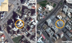 PËRPLASJET/ BBC ngre dyshime për imazhet e mjegullta të Gazës dhe Izraelit në Google Maps