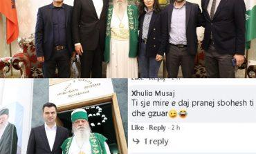 """TAKIMI ME BABA MONDIN/ Qytetarët """"shperthejnë"""" ndaj Bashës dhe me të drejtë: O Lul, sot nuk është Novruzi!"""