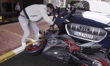 INCIDENT QESHARAK/ Kampioni i botës në F1 rrëzohet nga motori e përfundon me këmbët në ajër (VIDEO)