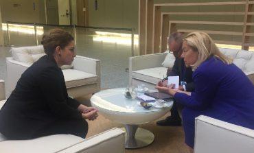 BRUKSEL/ Xhaçka me homologen holandeze: Mbeshtesim mbajtjen e Konferencës së parë Ndërqeveritare Shqipëri-BE