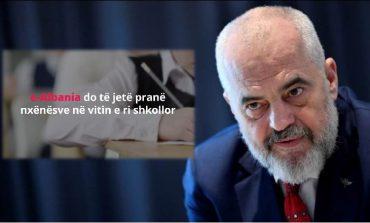 """""""ERDHI DITA""""/ Rama jep LAJMIN E MIRË: Fëmijët tashmë do të regjistrohen në shkolla nëpërmjet portalit e-Albania (VIDEO)"""