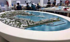 """""""DO JETË NDËR MË TË MËDHENJTË...""""/ Rama publikon PAMJE nga maketi i sapo përfunduar për transformimin e Portit të Durrësit"""