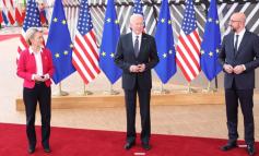"""""""AMERIKA ËSHTË KTHYER...""""/ Fillon në Bruksel samiti BE-SHBA"""