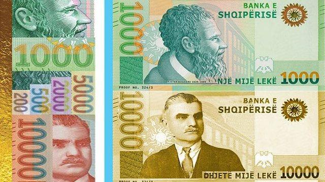 PËR HERË TË PARË/ Hidhet në treg kartmonedha 10.000 Lekëshe, ngjyrë e artë me portretin e Asdrenit