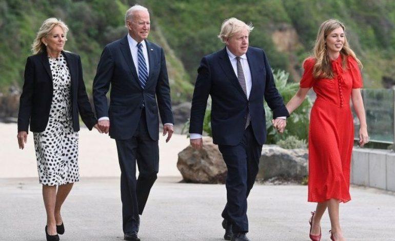 DALIN PAMJET/ Presidenti Biden në Britani, takim kryeministrin Johnson përpara samitit të G7