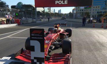 """FORMULA 1/ Flamur i kuq dhe surpriza, Piloti Leclerc me Ferrari siguron """"pole position"""" edhe në Baku"""