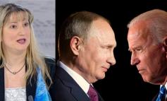 """TAKIMI I VITIT! Jeta e Bidenit dhe Putinit për 24 orët e ardhshme, """"në duart"""" e koloneles biondine"""