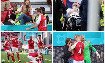 PËSOI ATAK KARDIAK/ Tifozët e Danimarkës surprizojnë Eriksen, ja çfarë vendosën në muret e spitalit (FOTO)
