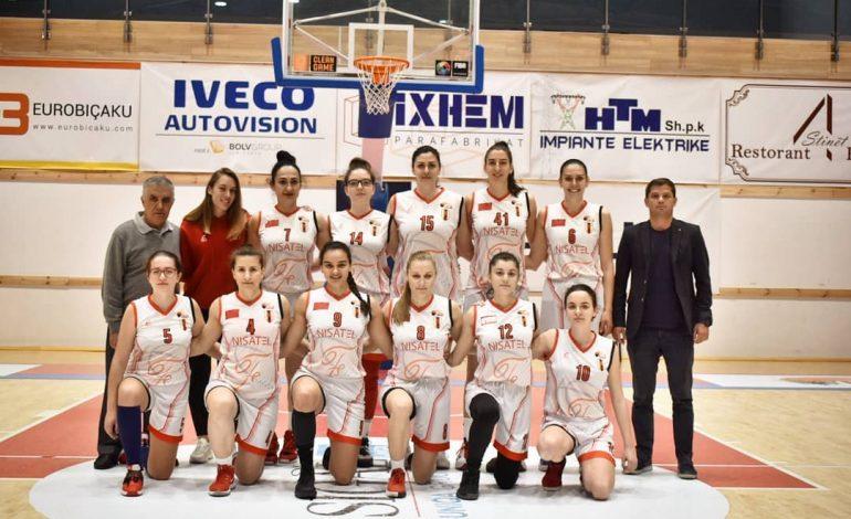 MADHËSHTOR/ Flamurtari shpallet kampion i Shqipërisë në basketboll për femra