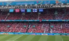 ERIKSEN PËSOI ATAK KARDIAK/ Rrënqethëse në stadium! Ja çfarë bëjnë tifozët e Danimarkës dhe Finlandës