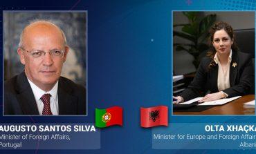 INTEGRIMI NË BE/ Xhaçka, telefonatë me homologun portugez: Konferenca e Parë Ndërqeveritare të zhvillohet...