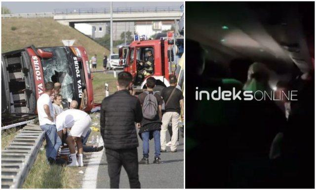 """PAMJET E TRISHTA! """"Thërret Prizreni mori Shkodër"""", atmosfera festive në autobus pak para aksidentit tragjik"""