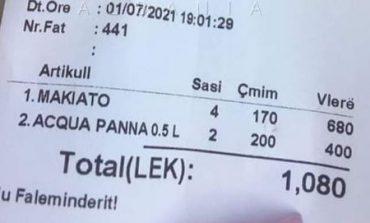 """""""Ankesa"""" për Jugun, por ja sa kushton një makiato në Shëngjin!"""