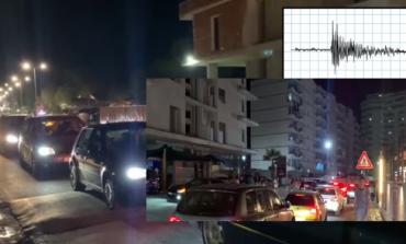 FRIKA NGA TËRMETI/ Pushuesit në Shëngjin dalin natën në rrugë (VIDEO)