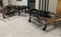 PAMJET E TRISHTA/ Çfarë ka mbetur nga spitali COVID në Tetovë, ku humbën jetën 14 pacientë