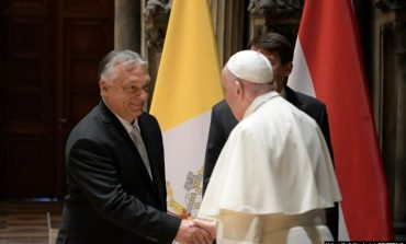 """""""ATI I SHENJTË MA BËRI TË QARTË...""""/ Orban: Takimi me Papën më inkurajoi që të mbroj vlerat e familjes"""