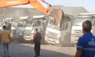 KISHTE MUAJ PA I DHËNË RROGËN/ I riu në Turqi hakmerret ndaj pronarit, merr buldozerin...