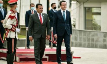 MAQEDONI E VERIUT/ Zaev dhe Kurti mbledhje të përbashkët qeverie, firmosen 11 marrëveshje