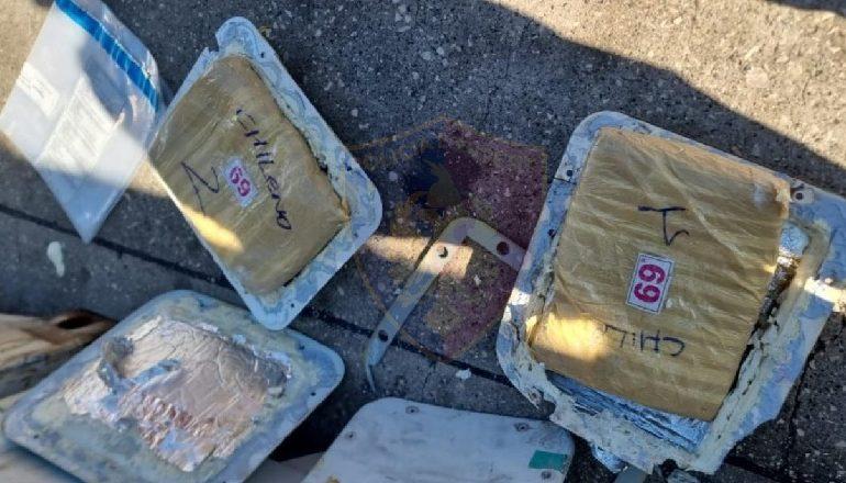 """SËRISH DROGË NË KONTEINERËT E """"ALBA EXOTIC FRUIT""""/ Kapen në Portin e Durrësit 10 kg kokainë, vinte nga Ekuadori (DETAJET)"""