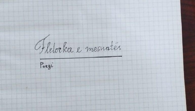 """""""FLETORKA E MESNATËS""""/ Dorëshkrimi i çmuar i Dritëro Agollit dhurohet Akademisë së Shkencave nga e bija"""